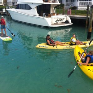 Try a Kayak and a Paddleboard!