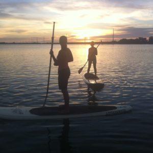 Sunset Sunrise SUP Florida Keys