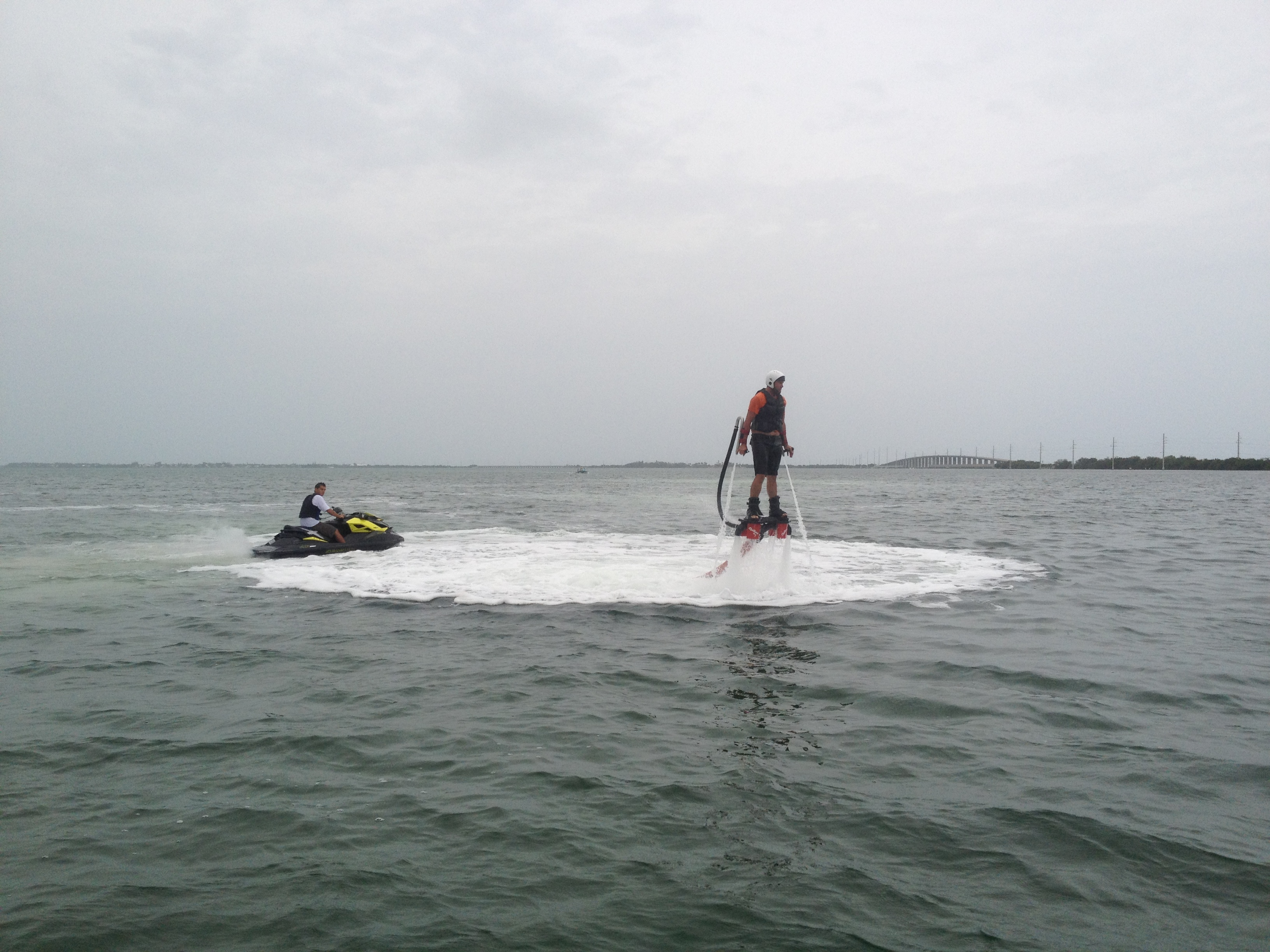 A Low Hover on the Flyboard