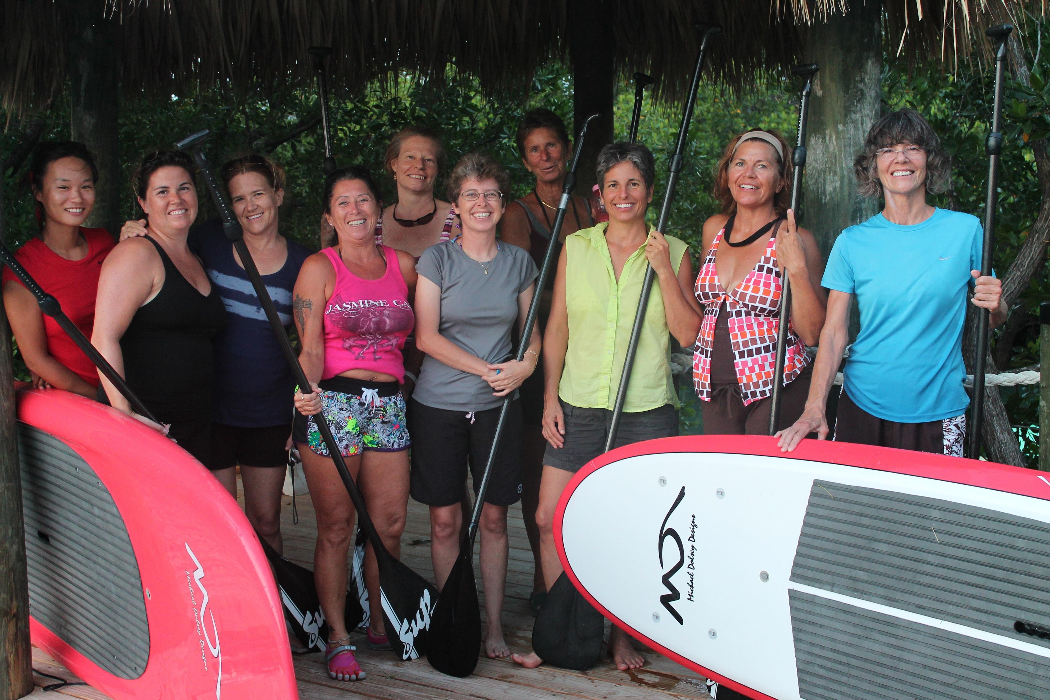 The SUP Yoga Crew